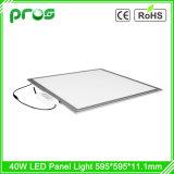 5year luz de painel 600X600 do diodo emissor de luz da garantia 100lm/W 36W para o teto