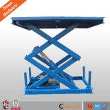 Plataforma elevadora de tijera hidráulica / China Pit elevadora de tijera