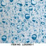 Modelo decorativo No. Lrd293b de la imagen del agua de la transferencia de la película líquida de la impresión