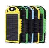 5000mAh делают заряжатель водостотьким батареи крена солнечной силы с двойным USB для черней