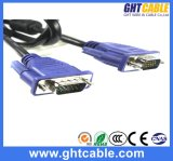 高品質Male/Male VGA Cable 3+4、Monitor/Projetor (J002)のための3+5