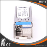 100Base-BX 1310nm Tx/1550nm Rx 20km SFP BIDI 송수신기