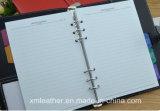 Libro di cuoio su ordinazione del diario del documento del Hardcover dell'unità di elaborazione, articoli per ufficio