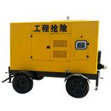 Abgestelltes Trash Diesel Water Pump mit Trailer