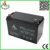 12V Zure Batterij van het Lood van het Onderhoud van 100ah de Navulbare Vrije voor Zonne