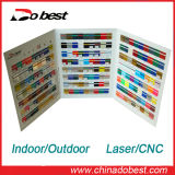 Laser/CNCの彫版のABS倍カラーシート