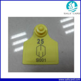 51X43m m TPU Animal Ear Tag con Customized Logo Printing