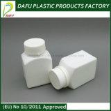 PE 100mlの気性の明白な帽子のプラスチック薬のびん