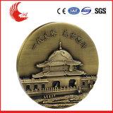 Medalha barata do metal da alta qualidade da promoção feita sob encomenda com fita