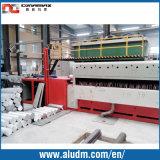 Horno de inducción eléctrico de la protuberancia del billete de aluminio del cortocircuito