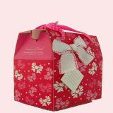 Коробка бумажного венчания в форме корзины