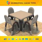 A cadeira de tabela plástica dos miúdos excelentes da qualidade ajustou-se (A-09005)