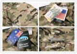 Roupa seca rápida ao ar livre da caça da camisa que caminha a camisa tática de acampamento