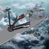 Bicicleta elétrica dobrável de 8 polegadas com assento com moldura de liga de alumínio