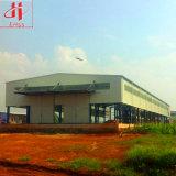Costruzione di disegno che costruisce la tettoia del magazzino dell'acciaio per costruzioni edili