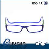 2016 Óculos de leitura magnética de plástico de boa qualidade com leitor de venda quente Sp499006