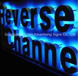Напольный декоративный знак письма канала СИД