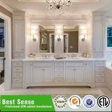 Самомоднейшая подгонянная мебель ванной комнаты твердой древесины элегантности