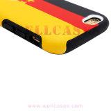 Teste padrão impresso 2 em 1 caixa do telefone móvel para o telemóvel
