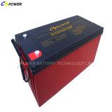 bateria recarregável selada de alta temperatura da manutenção de 12V 120ah livre