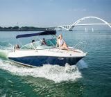 22 pies de todos los nuevos de fibra de vidrio de lujo yate deportivo barco