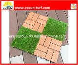 Искусственние плитки травы с блокируя затыловкой (ESTA4SA35D)