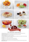 공상 Wedding Cake Stand, Plate를 가진 Food Glass Dome Cover