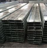 Perfil galvanizado do aço da forma de C