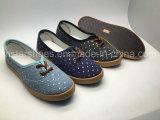 Ботинки холстины способа для женщин (MST161090)