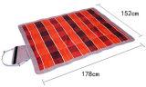 熱い販売の折る方法携帯用ピクニック美しい高品質のマット
