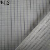 衣服のワイシャツまたは服Rls40-48poのための綿ポプリンの編まれたヤーンによって染められるファブリック