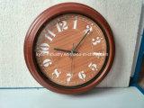جدار بلاستيك ساعة