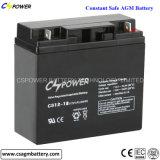 Batería profunda 12V24ah de la energía solar del AGM del ciclo para la batería de la UPS