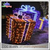 Indicatore luminoso esterno impermeabile della decorazione di motivo LED Gardenl del contenitore di regalo