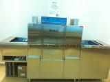 Tipo Chain eficiente automático máquina da máquina de lavar louça