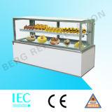 Vertikaler Kuchen-Schaukasten-Kühlraum mit Qualität