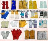 14''high Kwaliteit koe gespleten leer lassen handschoenen met Kevlar Hechten en Socket voering, Lederen werkhandschoenen fabrikant, lassen veiligheidshandschoenen voor Welder