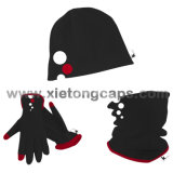 Vlies 3PCS Set, Hat, Glove, Snood, Warm Set, Winter Set