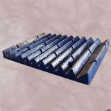 Kiefer-Zerkleinerungsmaschine zerteilt Kiefer-Zerkleinerungsmaschine-Platten-Zerkleinerungsmaschine-Kiefer-Platte