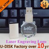 Kundenspezifischer FirmenzeichenOctagon Kristall-USB-Speicher-Stock (YT-3270-11L)