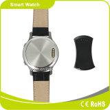 偶然の方法SmartphoneサポートIosおよび人間の特徴をもつOSのマルチ言語防水同期信号呼出しSMS Twitterの高く敏感な円形のタッチ画面Smartwatch