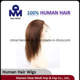 Lace pieno Wig Remy Human Hair con Silk Top