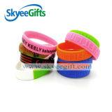 Skyeegift에서 다채로운 공장 공급 실리콘 팔찌