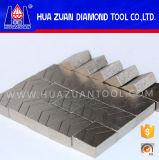 Goede Kwaliteit 1600mm de Scherpe Segmenten van het Graniet, het Segment van het Blad van de Diamant