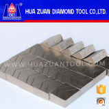 Segmentos da estaca do granito da boa qualidade 1600mm, segmento da lâmina do diamante
