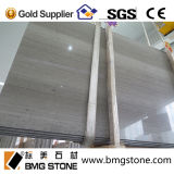 La Cina Low Price Grey Wood Vein Marble Slabs & Cut a Size Tiles