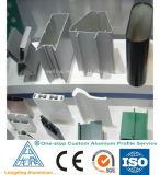 L'aluminium d'OEM d'ODM a expulsé profil pour le matériau de construction utilisé par industrie