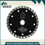 Blad van de Zaag van de Diamant hn-10 9inch het Kleine voor Zandsteen en Graniet