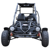 Adultos que competem o Buggy 2 do assento Offroad 150cc Rental