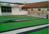 Hierba barata durable del balompié, instalación fácil de la hierba de alfombra